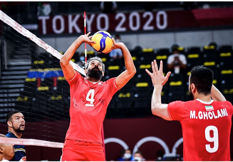 برتری قاطع والیبال ایران مقابل زنگ تفریح المپیک