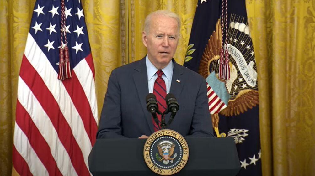 بایدن: منتظر تقویت مشارکت آمریکا و عراق هستم