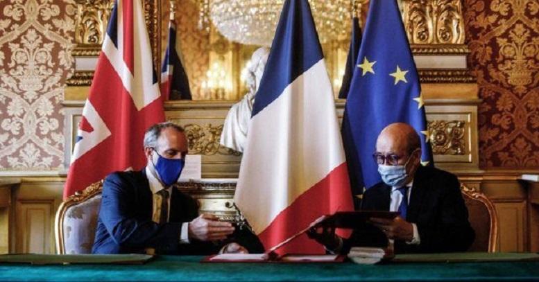 توافقنامه فرانسه و انگلیس برای مقابله با تهدید تروریستی