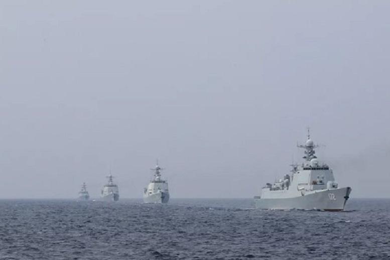 رزمایش نظامی «ارتش آزادیبخش خلق» در دریای چین