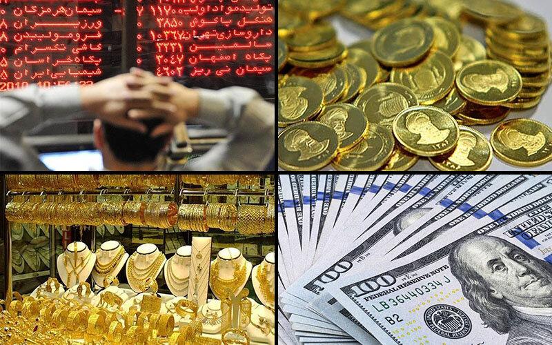قاعدهشکنی در بازارهای طلا، ارز و سهام