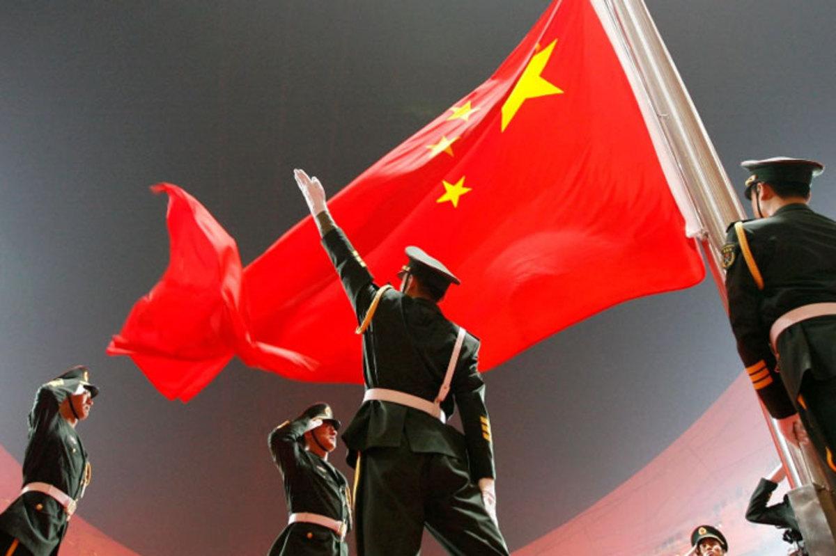 آمادهباش سربازهای چینی!