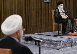 سخنان رهبر انقلاب در آخرین دیدار رئیسجمهور و هیئت دولت دوازدهم