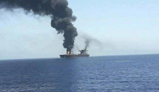 واکنش تل آویو به حمله علیه کشتی اسرائیلی در دریای عمان/ ابراز نگرانی آمریکا درباره حادثه کشتی اسرائیلی در دریای عمان/ آمادگی ایران برای کمک به ترکیه برای مهار آتش سوزی در این کشور/ موافقت آمریکا با فروش 18 بالگرد ترابری سنگین به اسرائیل