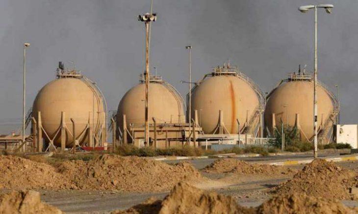 حمله موشکی به یک شرکت نفتی در عراق
