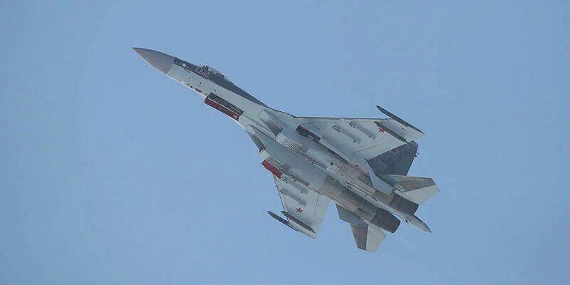 یک جنگنده سوخوی روسیه سقوط کرد