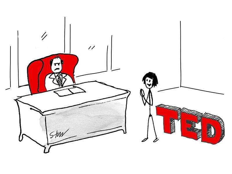 آیا هنوز میتوان سخنرانی تد را جدی گرفت؟