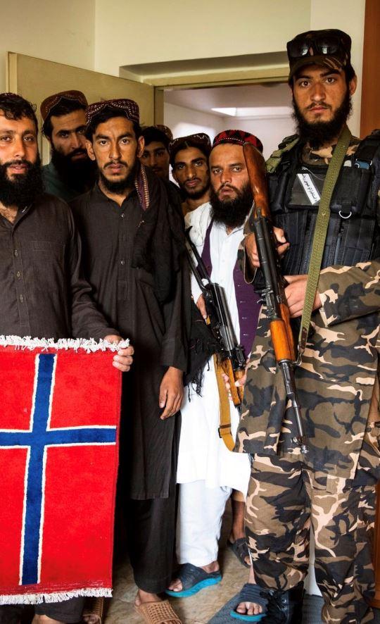 طالبان سفارت  نروژ در کابل را تصرف کرده اند
