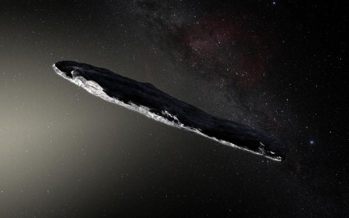 چرخش سیارک استخوانی عجیب به دور خورشید