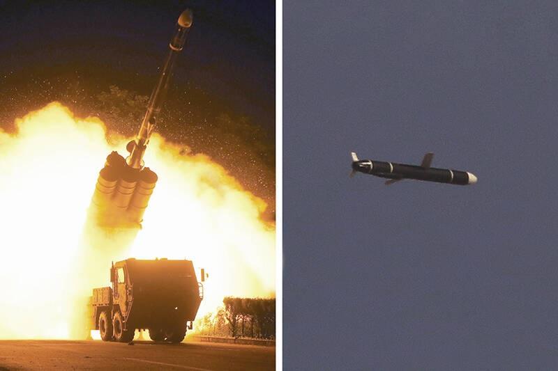 آزمایش نوع جدیدی از موشک کروز در کره شمالی