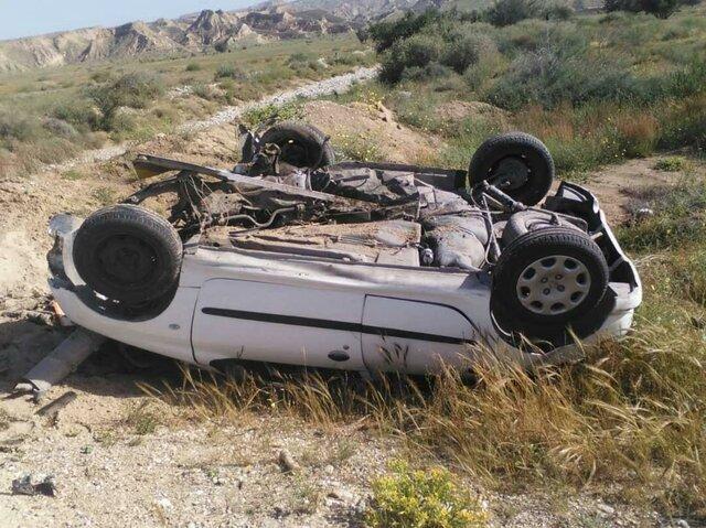 ۵ کشته در برخورد سواری با کامیون در محور طبس_یزد