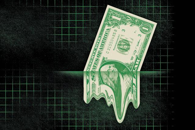 دلار کاهشی ماند
