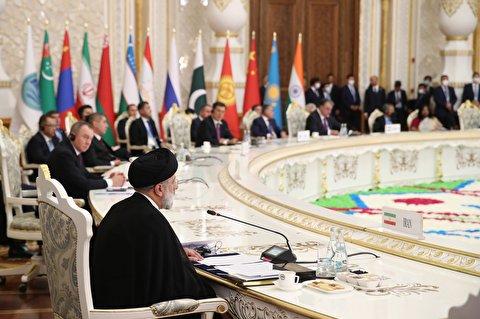 لحظه عضویت ایران در سازمان همکاری شانگهای