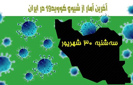 آخرین آمار کرونا تا سی ام شهریور/ واکسنهای تزریق شده در ایران در مرز ۴۶ میلیون دوز