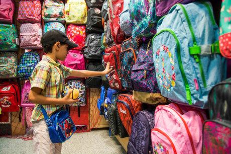 کاهش ۹۰ درصدی تقاضای کیف در آستانه بازگشایی مدارس