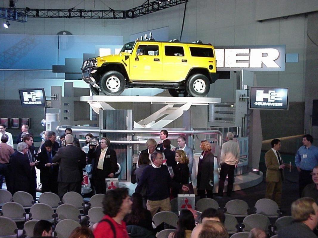 استفاده از بالابرها در صنایع خودروسازی