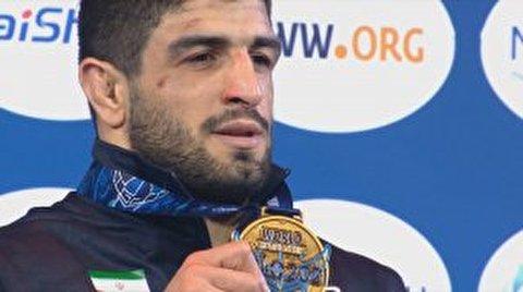 قهرمانی کامران قاسم پور در کشتی جهان