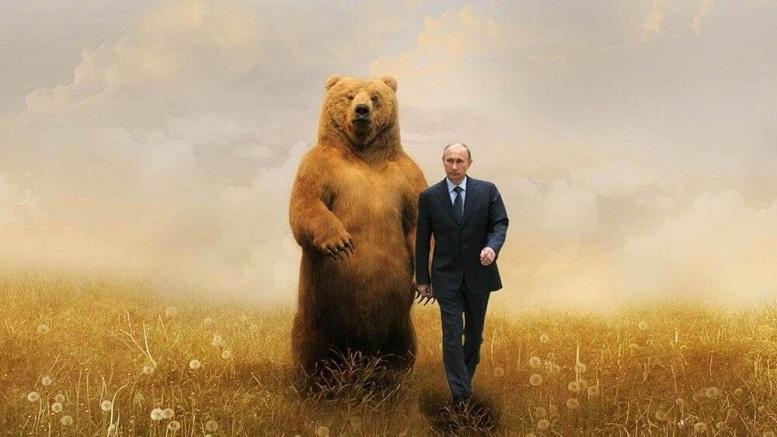 تصویر منحصربفرد از پوتین به مناسبت تولدش