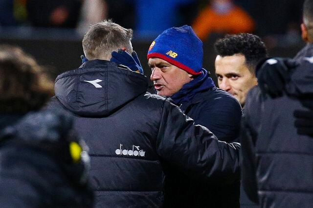 عصبانیت شدید مورینیو بعداز باخت عجیب 6گله رم مقابل تیم نروژی!