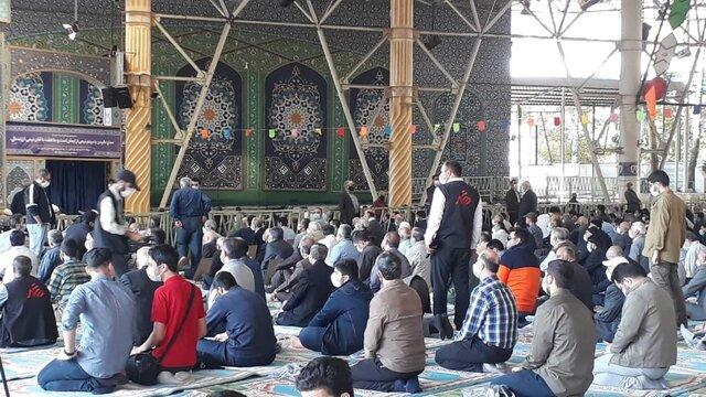 مراسم نمازجمعه تهران بعد از 20 ماه وقفه