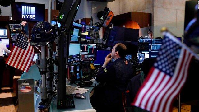 ریزش وال استریت پس از اعلام کسری بودجه دولت آمریکا