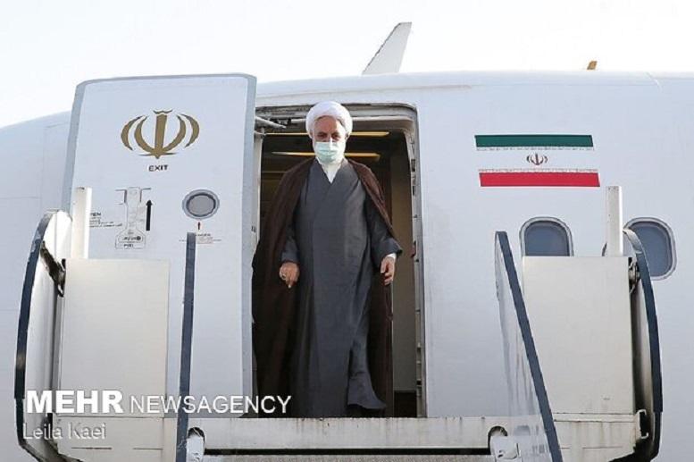 رئیس قوه قضائیه وارد خوزستان شد