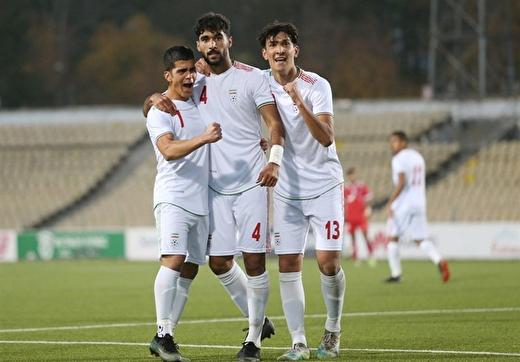 برد و صدرنشینی تیم ملی امید با شکست لبنان