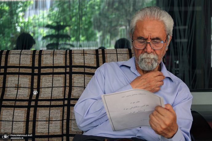 مرحوم غلامعباس توسلی به روایت تصویر