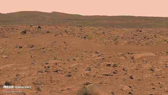 تصاویری خیره کننده از سطح مریخ
