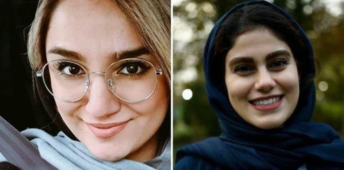 مهشاد کریمی و ریحانه یاسینی خبرنگاران ایسنا و ایرنا که در حادثه واژگونی اتوبوس جان خود را از دست دادند.