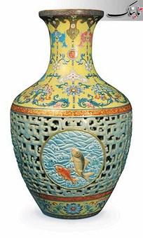 گلدان چینی قرن هجدهمی، در دوازدهم نوامبر در حراجی Bainbridges به بهای 85,921,461 دلار به فروش رسید