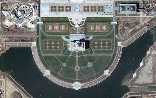 کاخ ریاست جمهوری در آستانه، قزاقستان