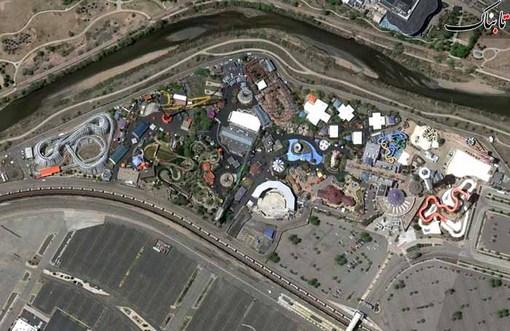 یک شهر بازی بزرگ در دنور در کلورادو