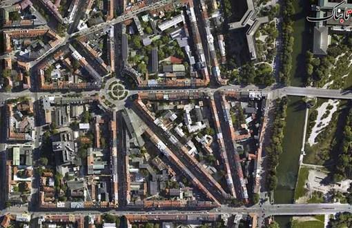 گارتنل پلاتز، مرکز مونیخ، آلمان