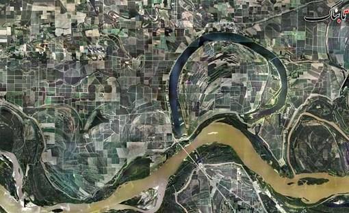 در امتداد رودخانه می سی سی پی در آرکانزاس آمریکا