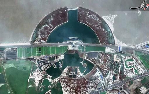 یک مقر نظامی در تیانجین چین