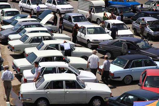 تصاویر جمعه بازار ماشین تهران