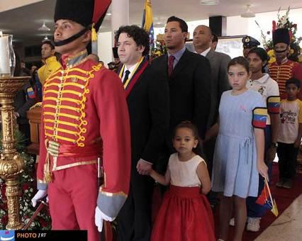 در حاشیه مراسم خاکسپاری هوگو چاوز