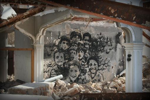 نمونهای از گرافیتی در خرابههای تهران؛ تصویری که بیش از پیش مجابمان خواهد کرد که همه هنرمندان خیابانی خرابکار نیستند!