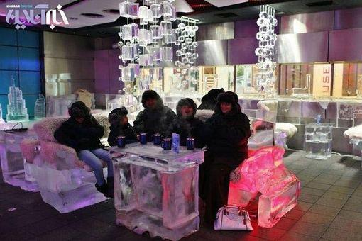 کافی شاپ یخی در دبی