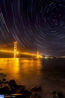 گلدن بریج، سانفرانسیسکو، آمریکا – عکس: Rick Whitacre