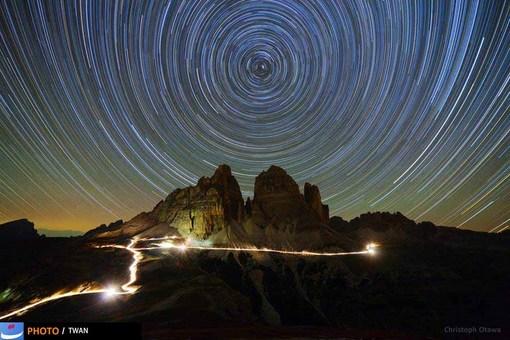 کوه دولومیتز، ایتالیا – عکس: Christoph Otawa