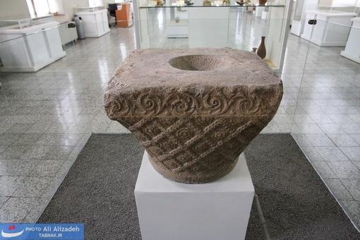 سرستون سنگی - کرمانشاه - ساسانی-651-226میلادی