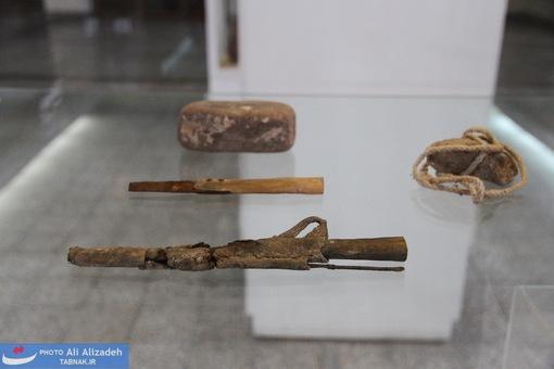 وسایل همراه با مرد نمکی که قدمتی 1700 ساله دارند