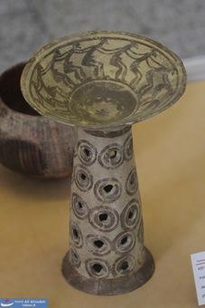 ظرف سفالی - جری فارس - هزاره ششم پیش از میلاد