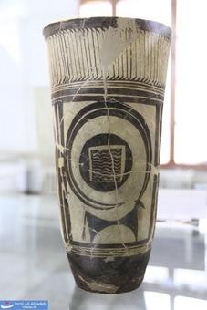 جام سفالی - شوش خوزستان-هزاره پنجم پیش از میلاد