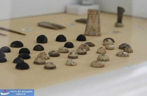 مهره های استخوانی - حسنلو - آذربایجان غربی-هزاره یکم پیش از میلاد