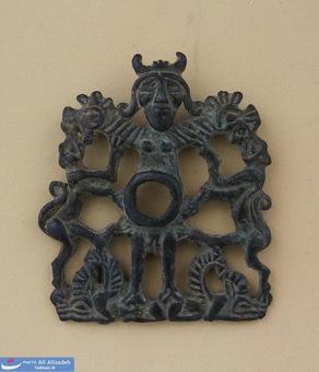 لگام - دهنه های مفرغی اسب-لرستان-هزاره نخست پیش از میلاد
