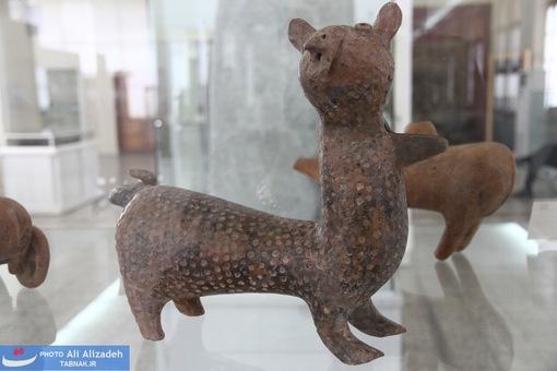 شیء سفالی جانور سان - مارلیک گیلان - هزاره یکم پیش از میلاد