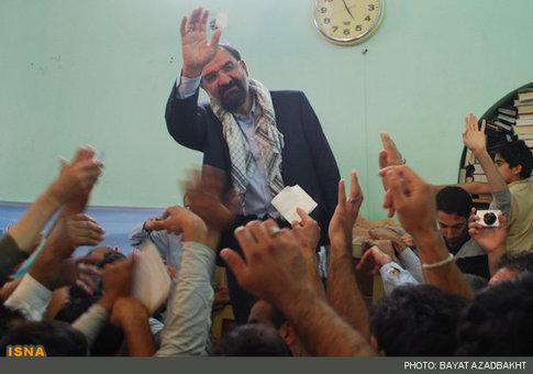 استقبال مردم کوهدشت از محسن رضایی